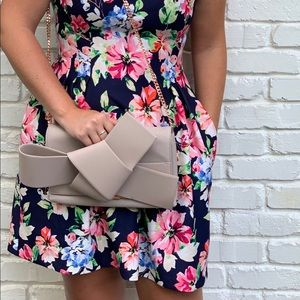 Ted Baker Large Bow Clutch